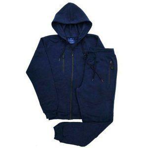 Royal Threads Men Tech Fleece Sweatsuit Jogger Set